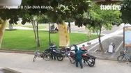 Cách đưa xe vi phạm đã bị khóa cổ về phường