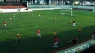 """Clip bàn thắng từ """"bóng ma"""" của cầu thủ trẻ Sacavenense"""