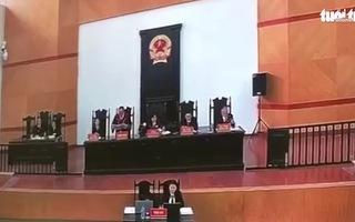 Video: Tòa tuyên án ông Nguyễn Bắc Son tù chung thân về tội nhận hối lộ